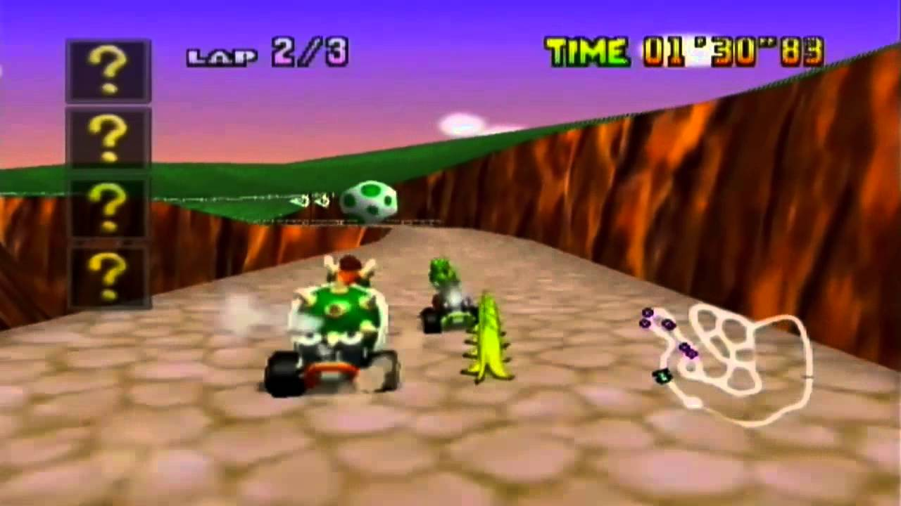 Image result for mario kart 64 yoshi valley