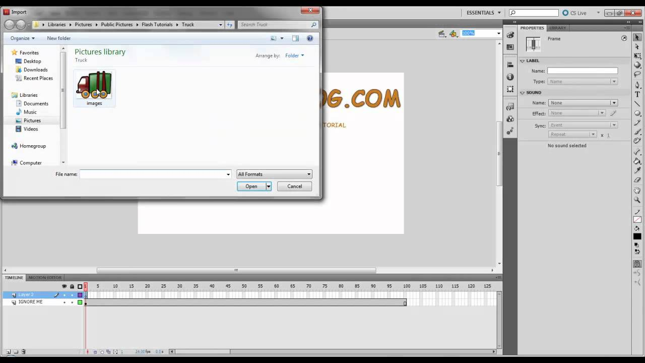 how to create a stop motion video in photoshop cs5