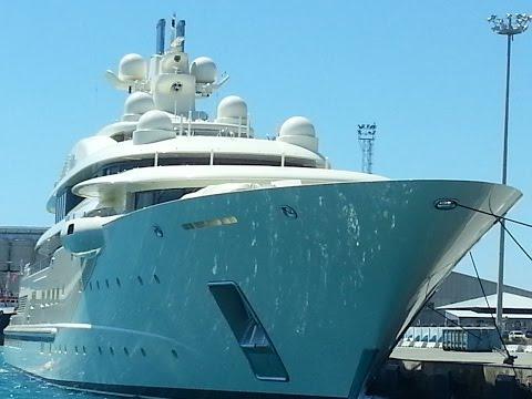 Dilbar - $ 256.000.000 Mega Yacht 110m