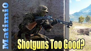 New Shotguns Too Good? - Battlefield 4