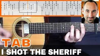 """Guitar Cover / Tab """"I Shot The Sheriff"""" by MLR-Guitar"""