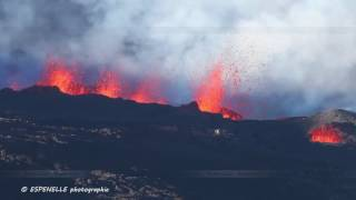 Eruption du Piton de La Fournaise le 2017