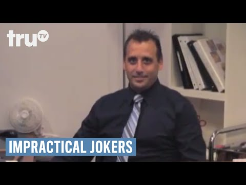 Impractical Jokers Joe Poses As A Receptionist And