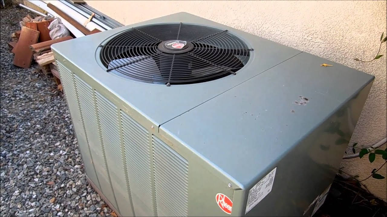 Rheem Classic Series A C Plus Photos Youtube
