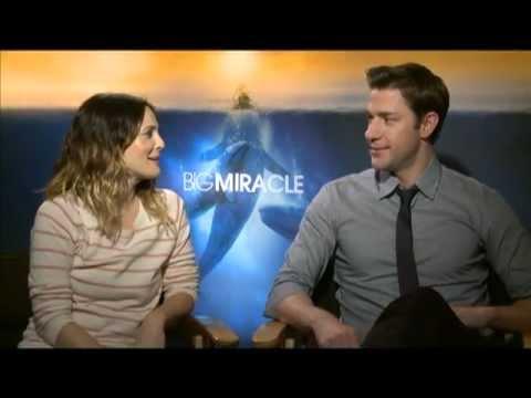 BIG MIRACLE Interviews: Drew Barrymore, John Krasinski, Kristen Bell, Ted Danson and Dermot Mulroney