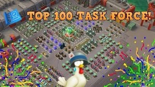 Boom Beach: Chicken Coop VS Choke Point! 10 Man Task Force!