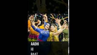 sanam sanam jaye re jiya garbe ki raat me status video !! #FUll_screen