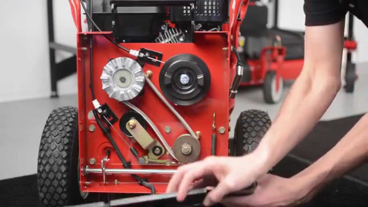 How To Replace The Belt Troy Bilt 174 Flex Youtube