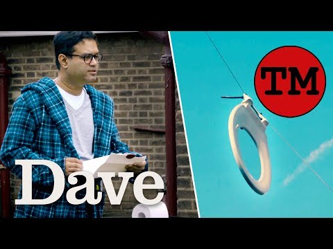Taskmaster S8 EP4 | Get The Loo Roll Through The Toilet Seat | Dave