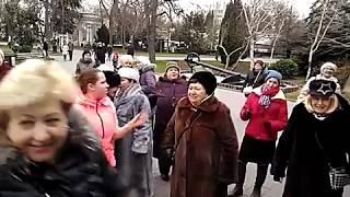 Танцы На Приморском Бульваре - Севастополь - 16.02.19 - Певец Сергей Соков