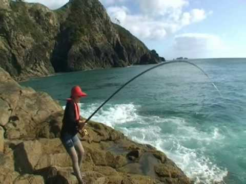 20lb Snapper Woman Rock Fishing Far North NZ