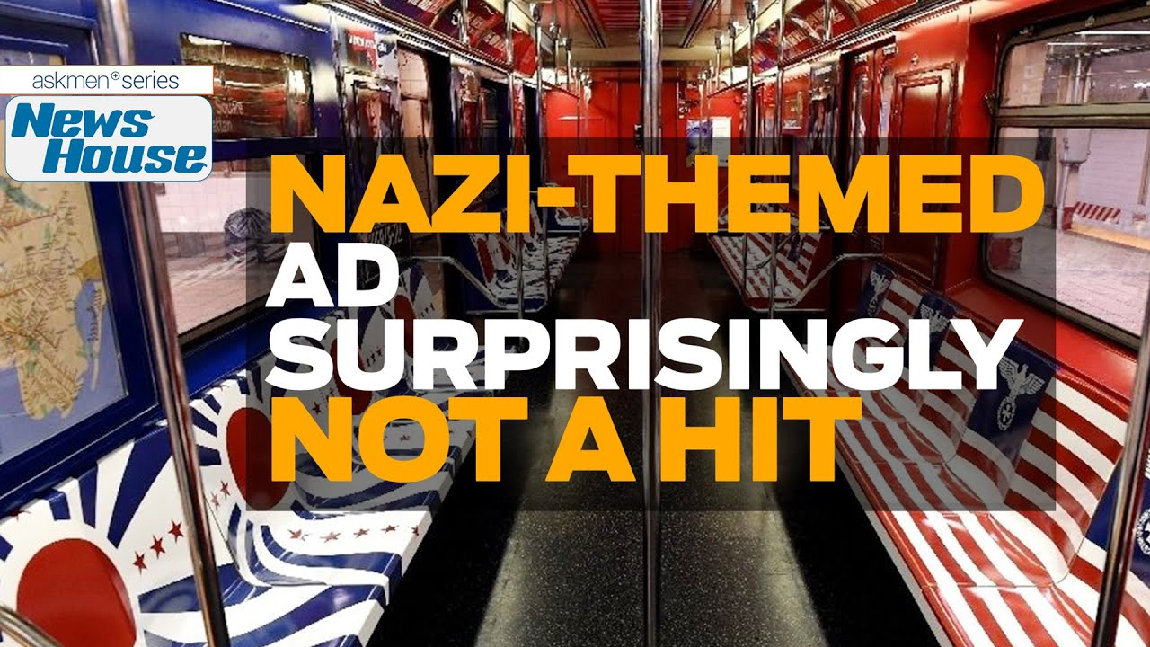 Nazi themed subway ads not a hit in new york news house youtube nazi themed subway ads not a hit in new york news house biocorpaavc Gallery