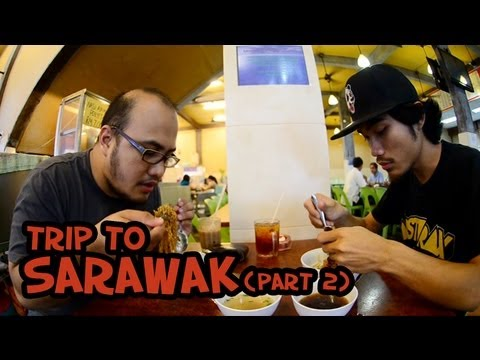 #trip to Sarawak --- Taman Sahabat / Mee Kolok / Kek Lapis Sarawak (PART 2)
