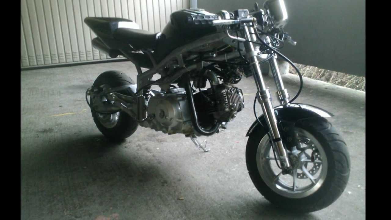 Wonderlijk Midi Bike / Pocket bike 110ccm zu verkaufen / tausch Aerox - YouTube NF-61