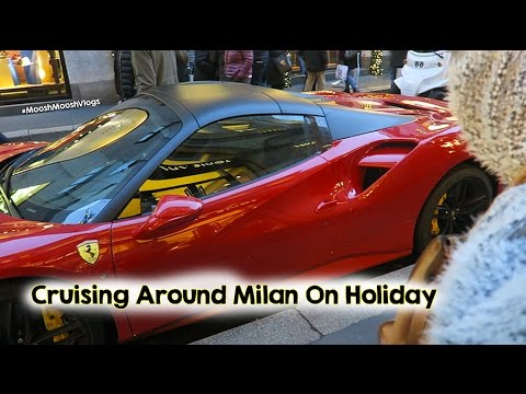 Cruising Around Milan On Holiday | MooshMooshVlogs