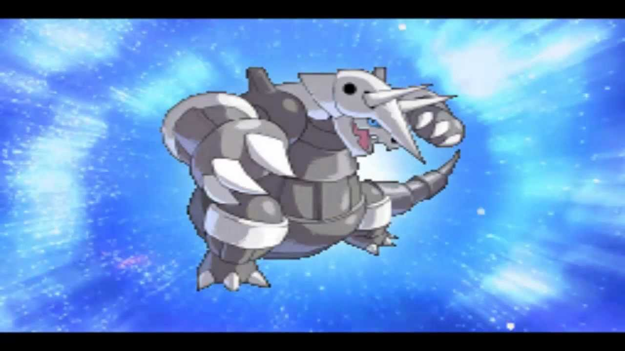 Pokemon Conquest: Lairon Evolve to Aggron - YouTube Lairon Evolution