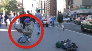 The Homeless Millionaire Prank(Coby Persin)