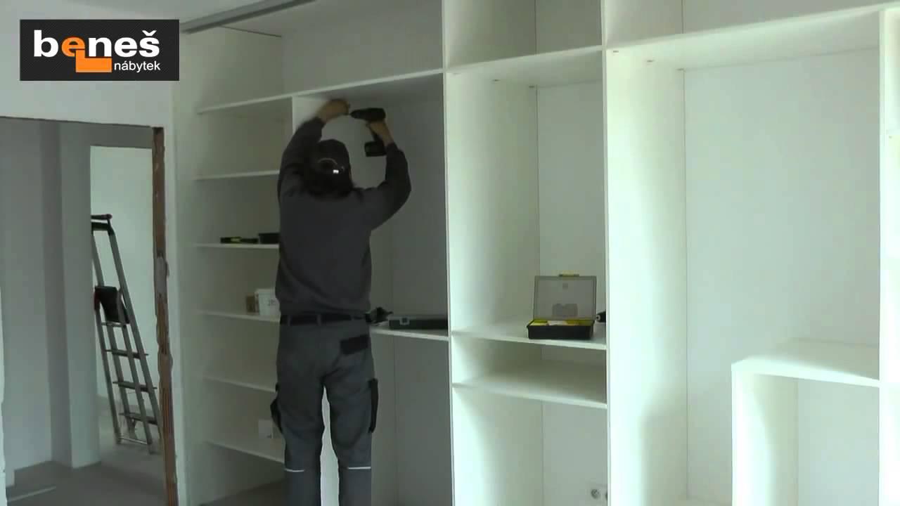Vestavěné skříně svépomocí