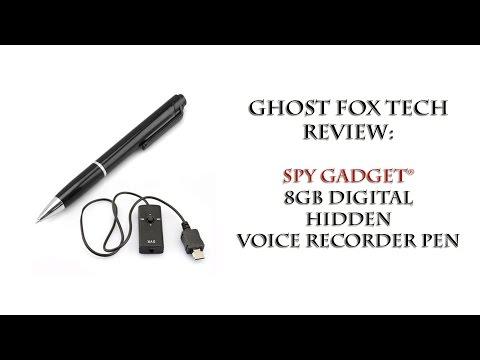 Spy Gadget 8GB Digital Hidden Spy Voice Recorder Pen - Review