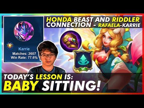 BABY SITTING TUTORIAL   RAFAELA TUTORIAL GAMEPLAY BY HONDA BEAST