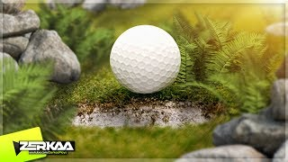 OVERGROWN WOODS MINIGOLF! (Golf It)
