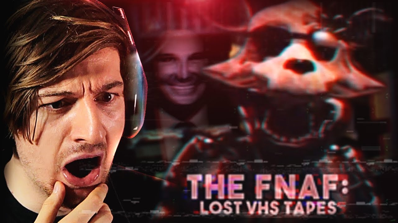 THESE FNAF TAPES MADE ME CRY WITH FEAR. (Reacting to FNAF VHS Tapes)
