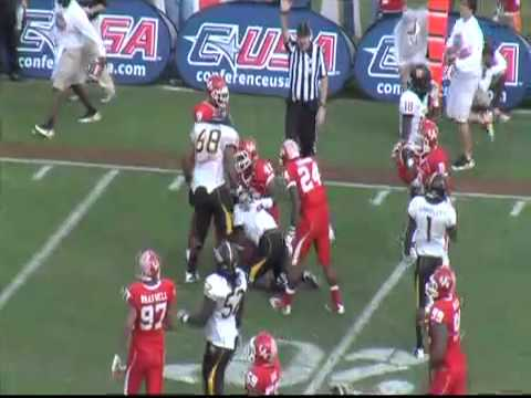 Southern Miss vs Houston - 2011  Conference USA Championship Game Highlights