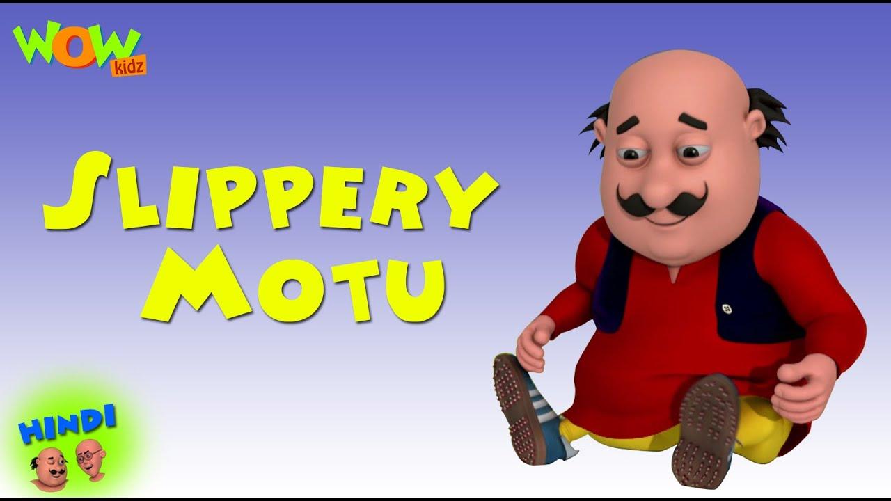 Slippery Motu Motu Patlu In Hindi With English Spanish French