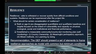 60th GEF Council - CSO Session - June 11, 2021