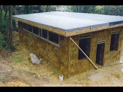 Benefits Of Straw Bale Construction Youtube