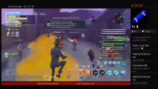 [Live/Fr/Ps4] Fortnite SaUvEr The MoNdE 425 subscribers?