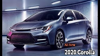 2020 Toyota Corolla Sedan – Interior, Exterior and Drive