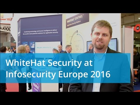 WhiteHat Security at Infosecurity Europe 2016