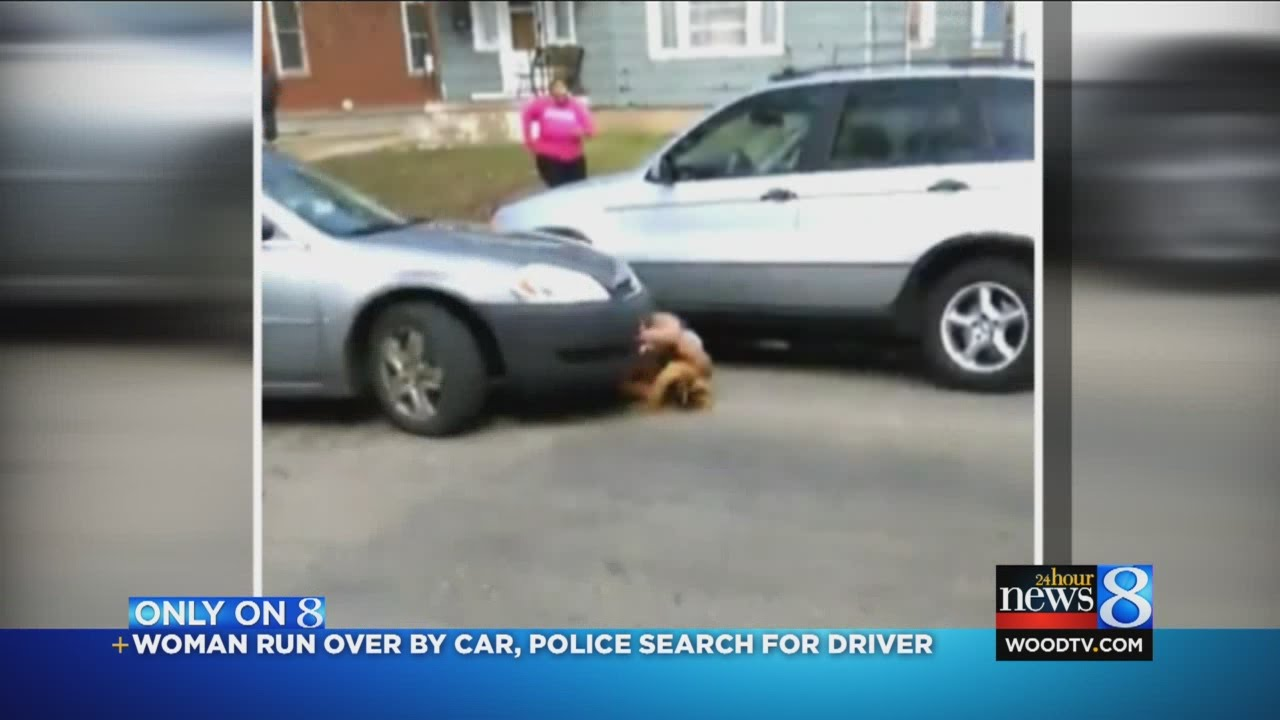 Girl Gets Run Over By Car After Fight