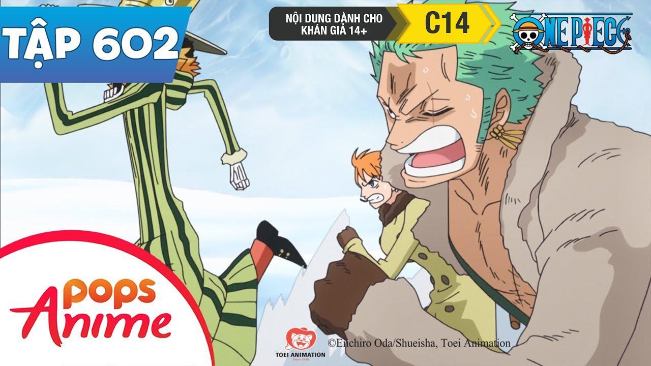 One Piece Tập 602 - Vũ Khí Hủy Diệt Hàng Loạt Nguy Hiểm Nhất Lịch Sử! Shinokuni - Đảo Hải Tặc