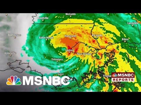 Hurricane Ida Downgraded To A Category 2