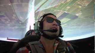 Sean D. Tucker schools Aaron Farb in aerobatic flying