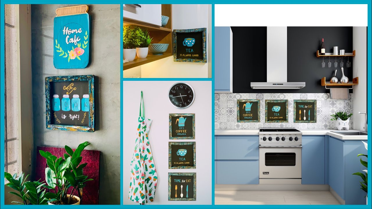 Let me show you how I decorated my kitchen with these cute frames   GADAC DIY   Kitchen Decor part 3