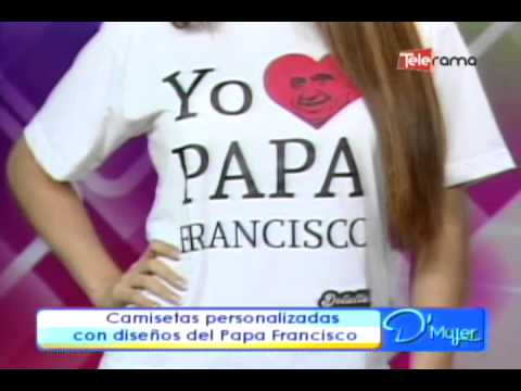 Camisetas personalizadas con dise os del papa francisco - Pintura para camisetas ...