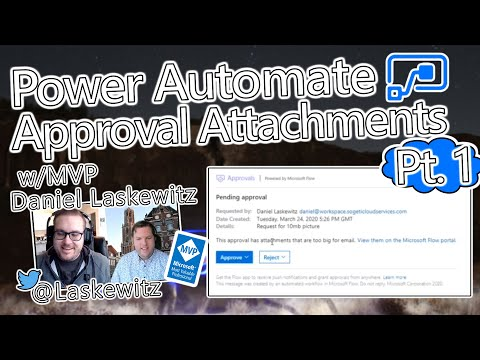 Microsoft Power Automate Tutorial - Approval Attachments Part 1