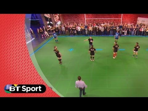 Pitch Demo: Chris Pennell masterclass on counter attacking | Rugby Tonight