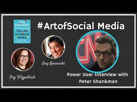 The Art of Social Media Power Users featuring Peter Shankman, Guy Kawasaki, and Peg Fitzpatrick