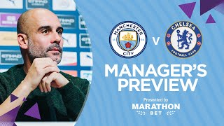 PRESS CONFERENCE | Pep Guardiola | Man City v Chelsea