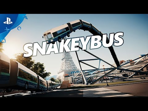 Snakeybus - Announce Trailer | PS4