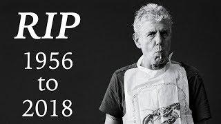 Sad loss today. news: https://www.nytimes.com/2018/06/08/business/media/anthony-bourdain-dead.html