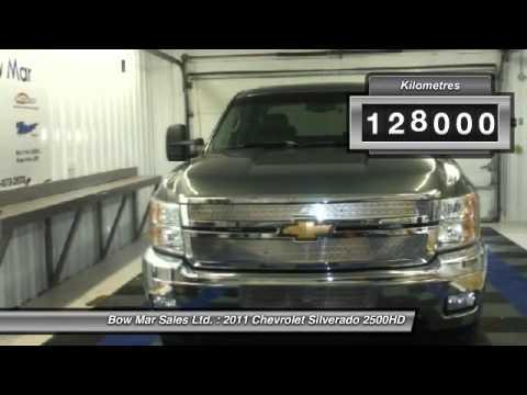 2011 Chevrolet Silverado 2500HD Tisdale Saskatchewan 1583A