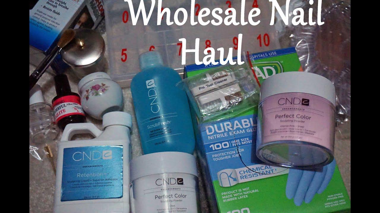 Acrylic Nail Supply Haul 2015 | DivaDollFlawless - YouTube