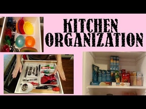 Kitchen and Pantry Organization//Cleaning Standards
