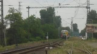 H-START 426 020 + 004 jár be Budapest-Közvágóhíd felöl R…