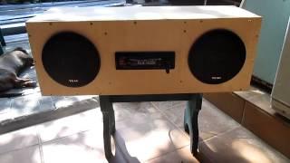 Самодельные колонки,или BoomBox для стройки,часть 2(Изготовил самодельную музыкальную систему типа BoomBox из авто компонентов Sony Teac., 2014-07-13T06:38:34.000Z)